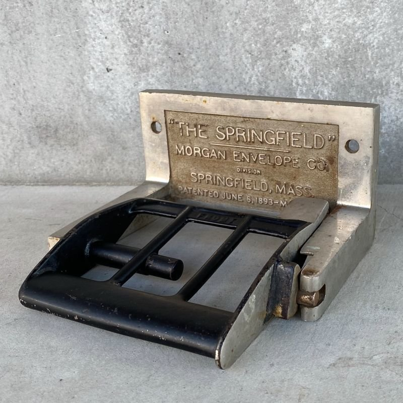 画像1: VINTAGE THE SPRINGFIELD MORGAN ENVELOPE CO. TOILET PAPER HOLDER ヴィンテージ トイレットペーパーホルダー アメリカ / インテリア オブジェ ディスプレイ 雑貨