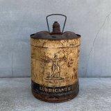 VINTAGE LUBRICANTS OIL缶 ヴィンテージ オイル缶 アメリカ / アドバタイジング ドラム缶 インディアン ガレージ