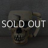 VINTAGE SKULL TIKI MUG ヴィンテージ スカル ドクロ マグカップ / 陶器製 骸骨 輸出用 日本製