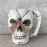 VINTAGE SKULLTIKI ヴィンテージ スカル ドクロ マグカップ / 陶器製 骸骨 輸出用 日本製
