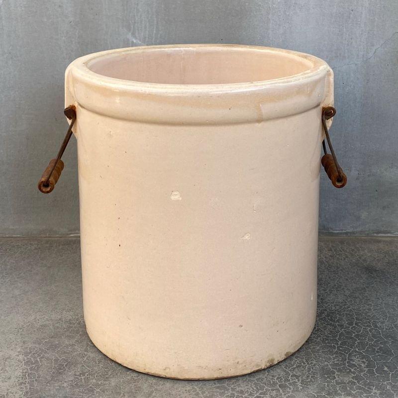 画像2: VINTAGE MEYERS POTTERY ヴィンテージ プランター / アメリカ ガーデニング ポット 鉢 陶器 収納