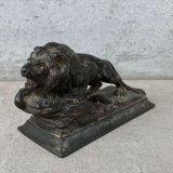 VINTAGE AWARD OF MERIT 1948 LION ヴィンテージ ライオン アメリカ / オブジェ ペーパーウェイト コレクタブル 置物