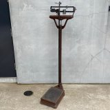 VINTAGE JACOBS BROS CO. DETECTO MEDIC SCALE ヴィンテージ スケール 体重計 身長測定 アメリカ / インダストリアル 学校 病院 店舗 什器 USA